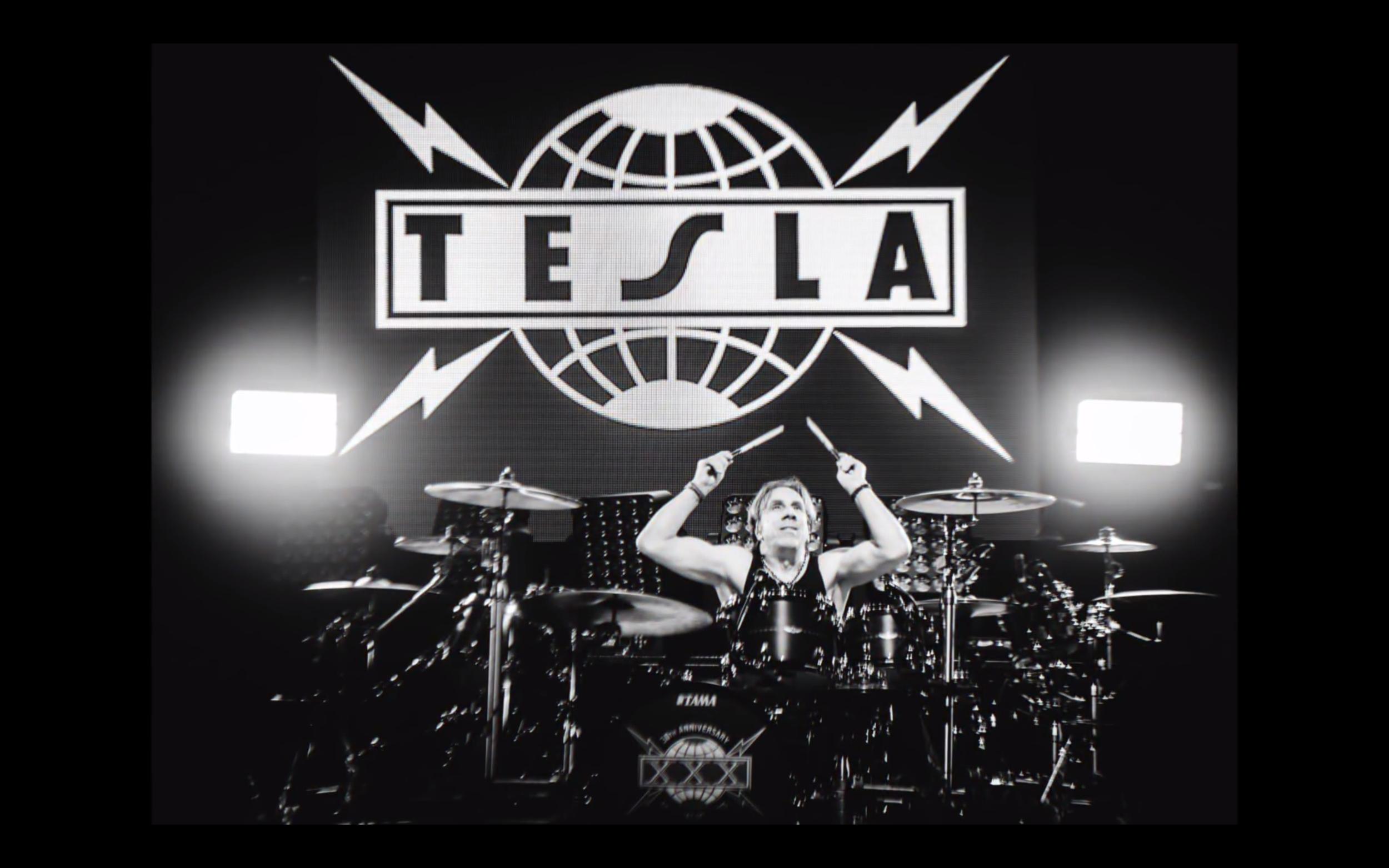 "TESLA - 30 Years of Kickin' Ass Summer/Fall Tour 2017  LD: Ignacio ""Iggy"" Rosenberg  Photo by: Unknown"