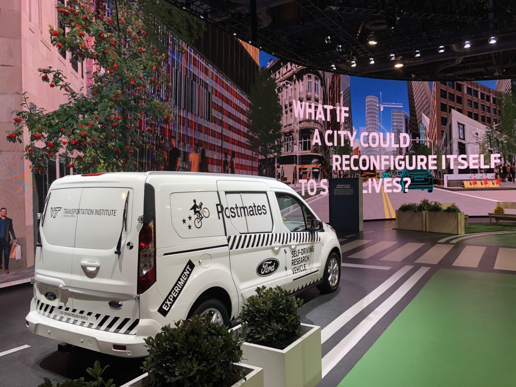 Ford Motor Company - The Living City  Imagination, Inc.  Consumer Electronics Show - Las Vegas, NV  2018