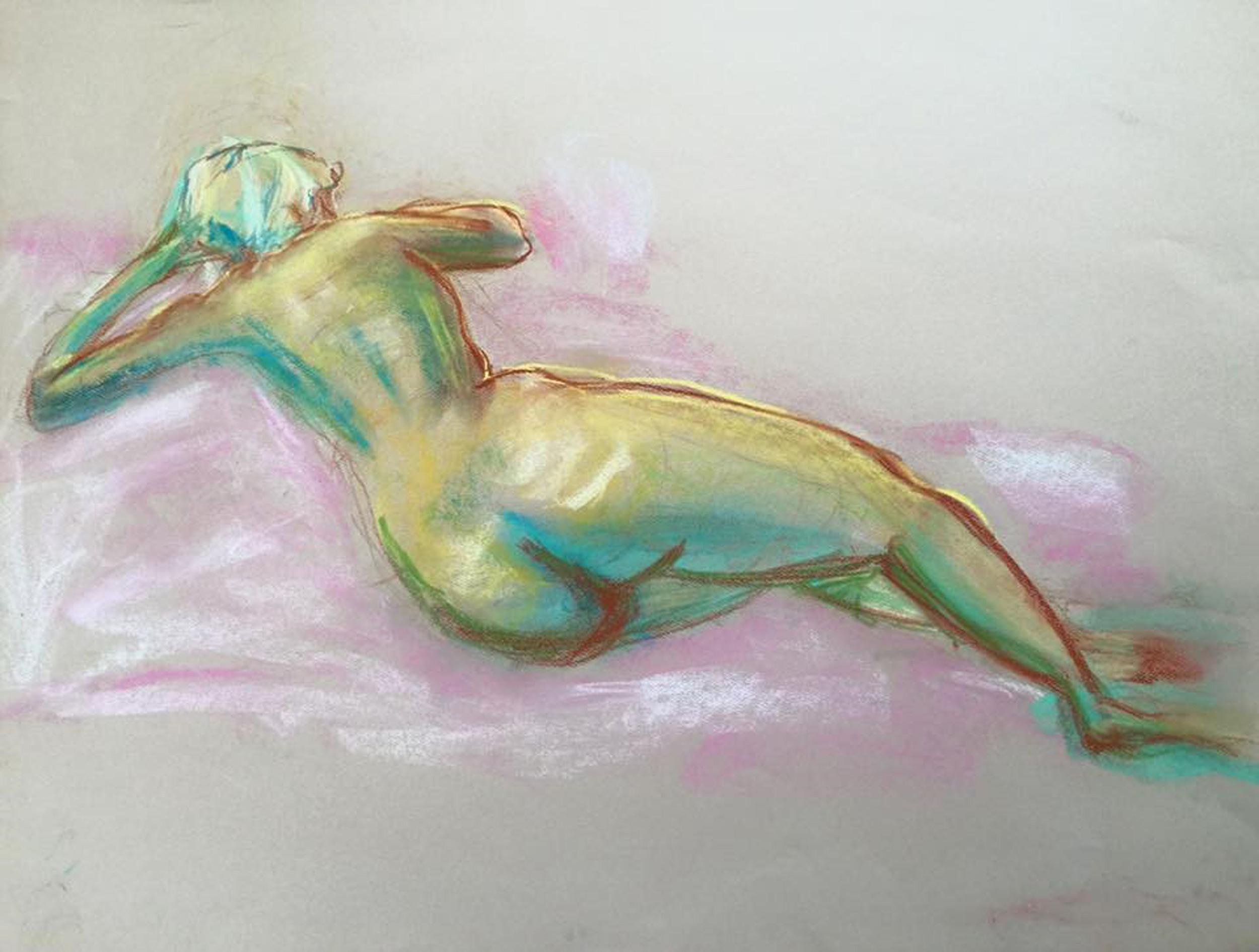 Pastel on paper   18 X 24