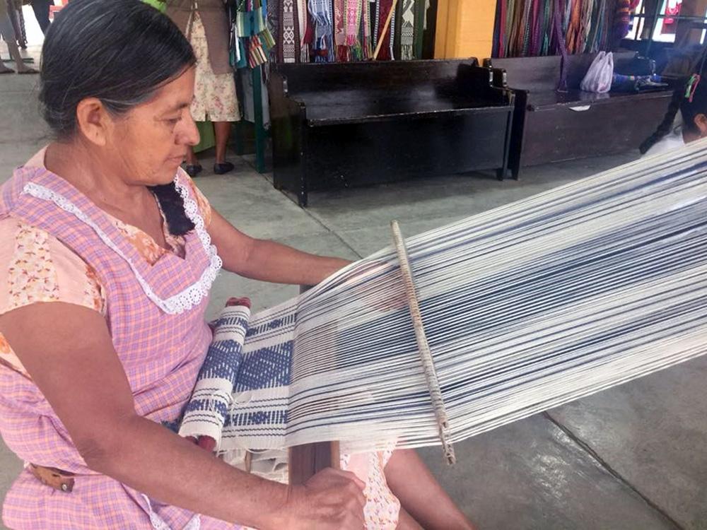 Back Strap Weaving