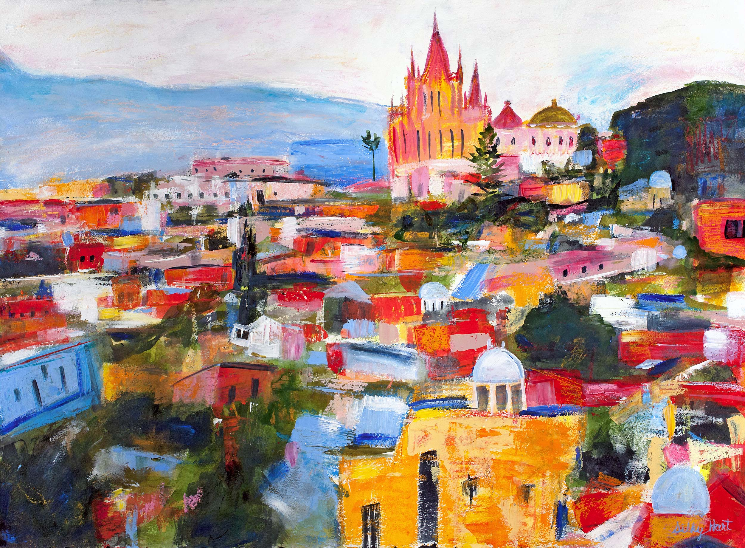 Colors of San MIguel de Allende