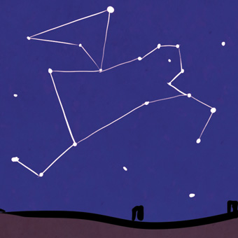 The constellation of Rion, the Shedu of Righteousness.
