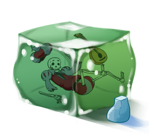 Rickety Stitch and the Gelatinous Goo and Gelatinous Cube!
