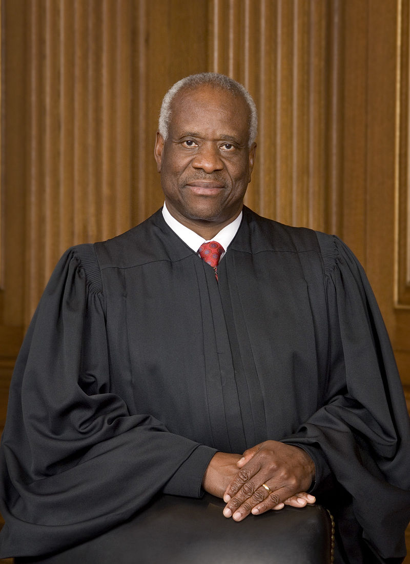 Supreme Court Associate Justice, Clarence Thomas