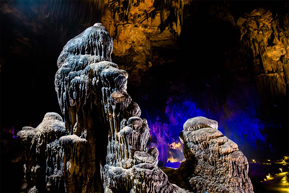 Beat the heat at DeSoto Caverns! Our cave is always 60°F, so you'll stay cool even when it's hot outside.