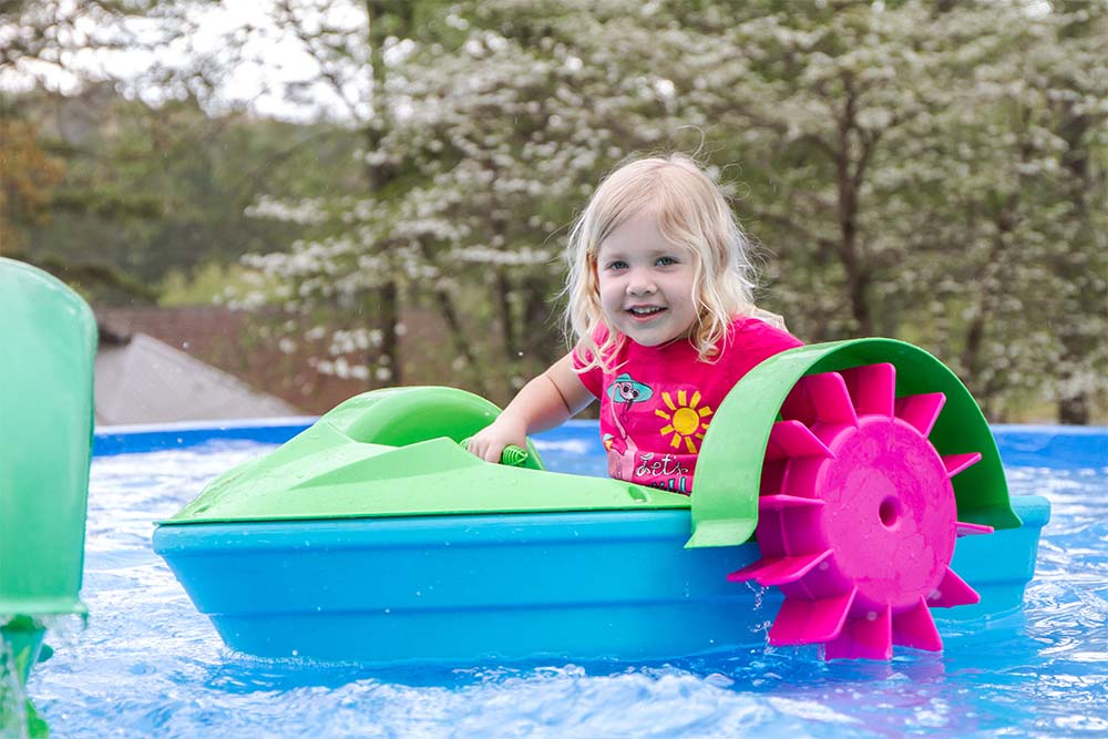 Cool off this summer with fun water attractions at DeSoto Caverns!