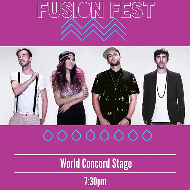 Fusion Fest! We hit the Concord World Music Stage at 7:30pm ... right before Maxi Priest! See you tonight 🙌🏾🔥#fusionfestival #hollandpark #starcaptains #stoked