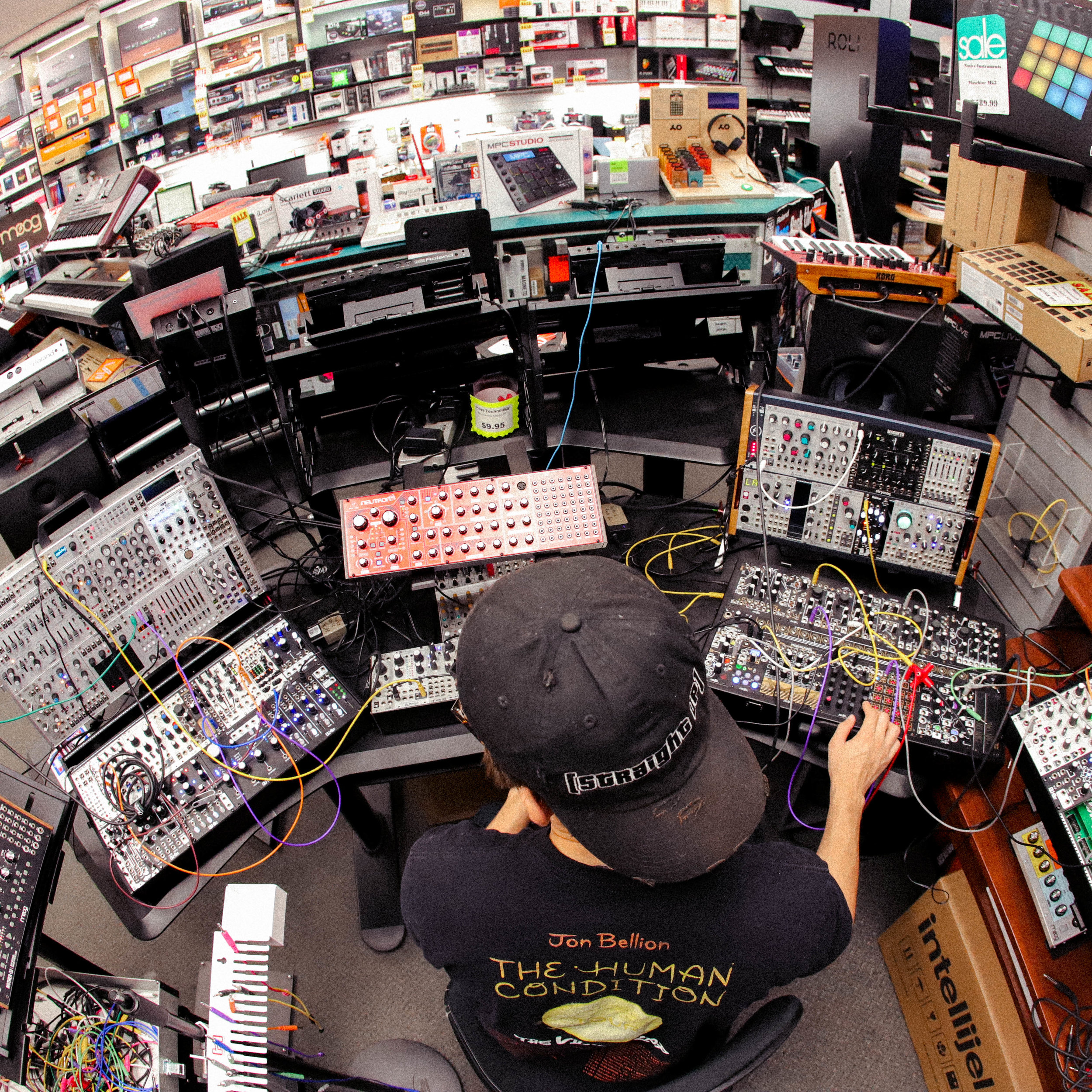 - The Modular Synth demo area in the Keyboard and Recording Department