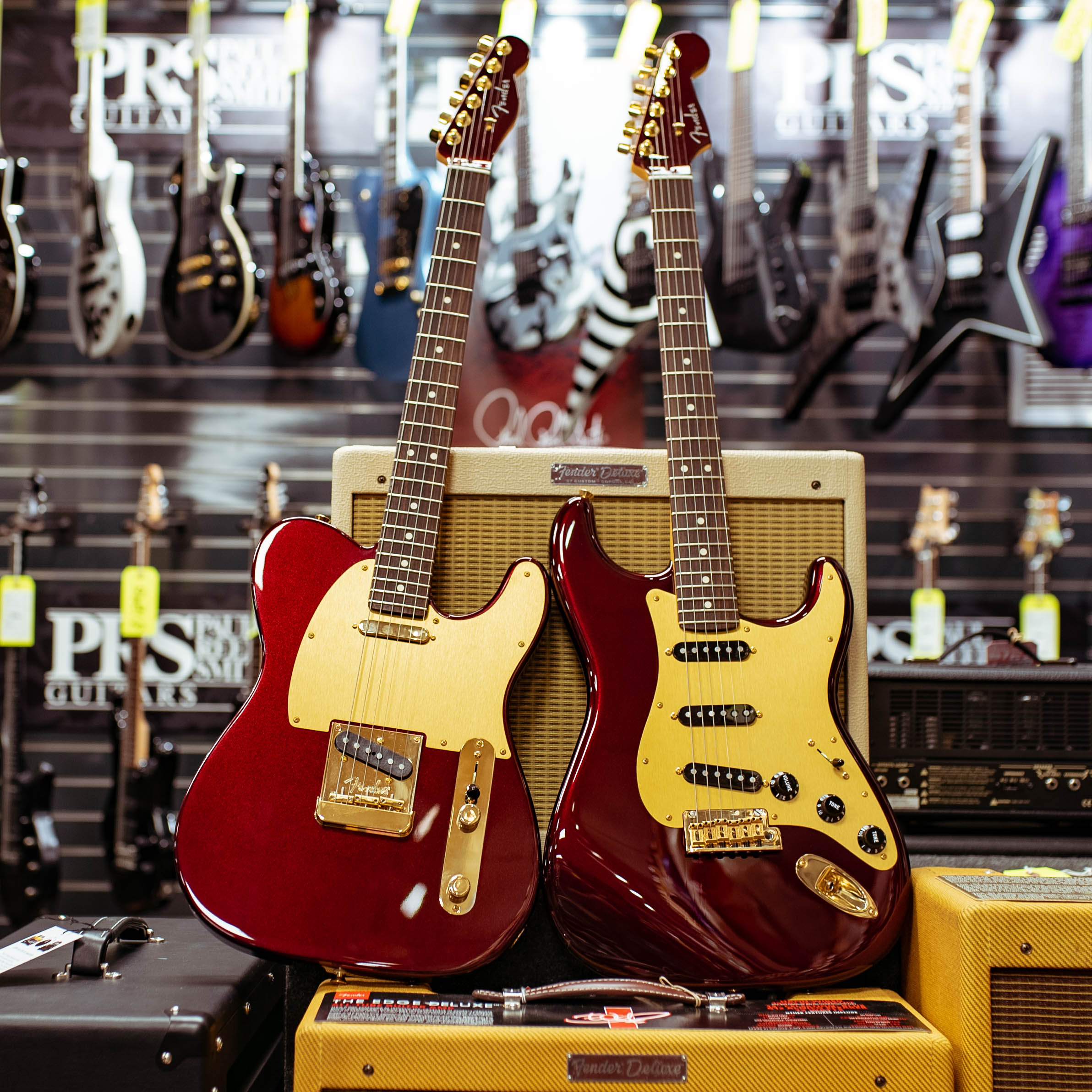 - Limited Edition Fender X Chuck Levin's 60th Anniversary Telecaster and Stratocaster designed for their 60th Anniversary in 2018. Only 30 of each instrument were built to commemorate 60 years in business
