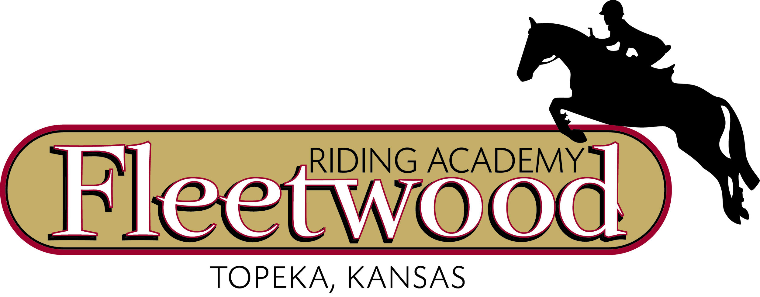 """Fleetwood Riding Academy - Kylie Fowler - """"Fleetwood Riding Academy located in Topeka, KS, is honored to sponsor """"the jump"""" at the Confederation National show here at beautiful Haras. Fleetwood Riding Academy wishes all riders Good Luck!!!"""""""