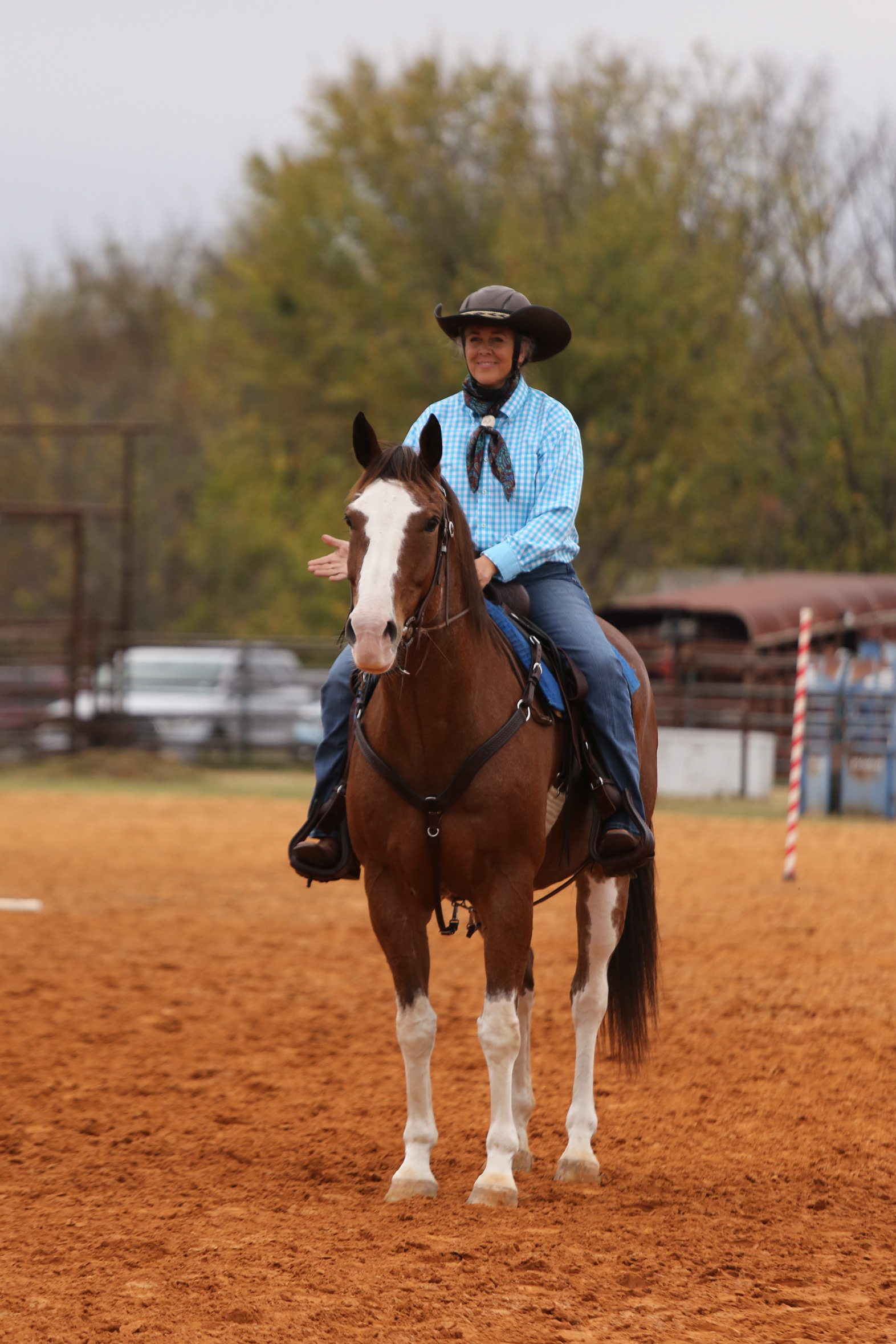 Dusty Davis of Check Six Ranch  Dawn Swensson -  picture by Amy Spivey