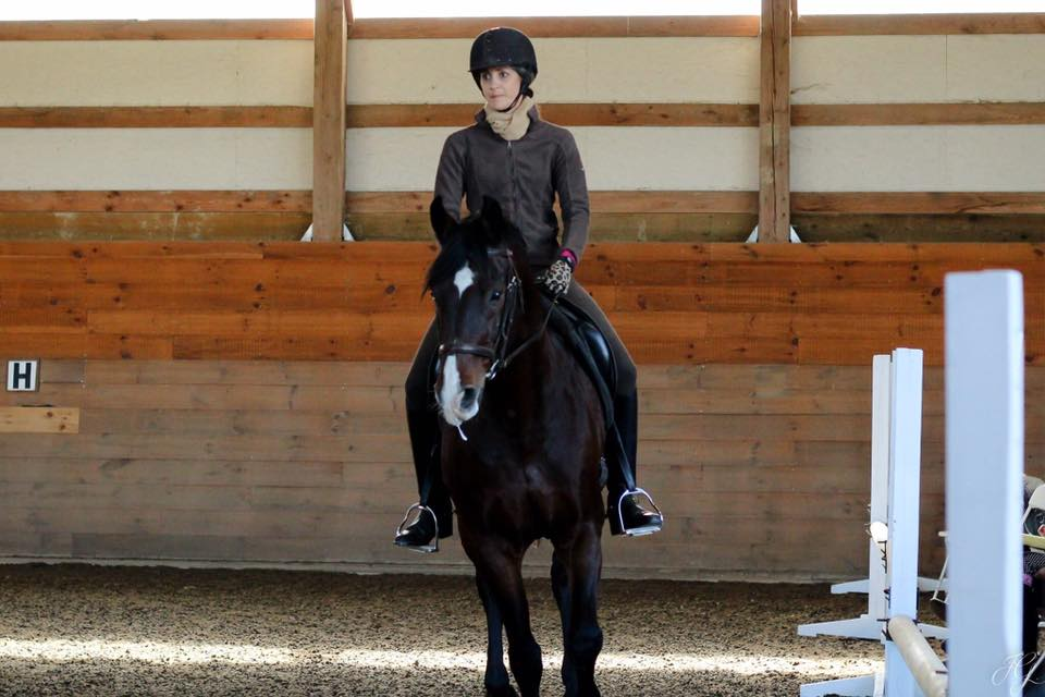 """Julia M. Malik - """"Thank you to everyone who is making Working Equitation competitions possible in the US and the Confederation's first national championship possible. I just started in this sport and I am looking forward to participating in the coming years"""""""