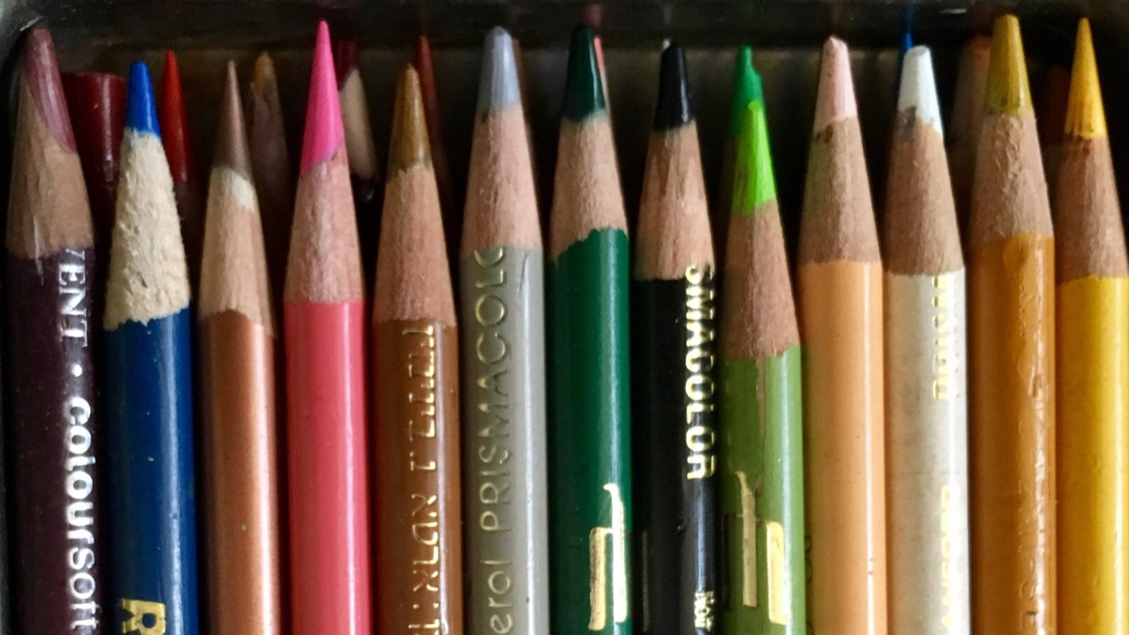 Colored Pencils On Point, by Stephen M. Frey