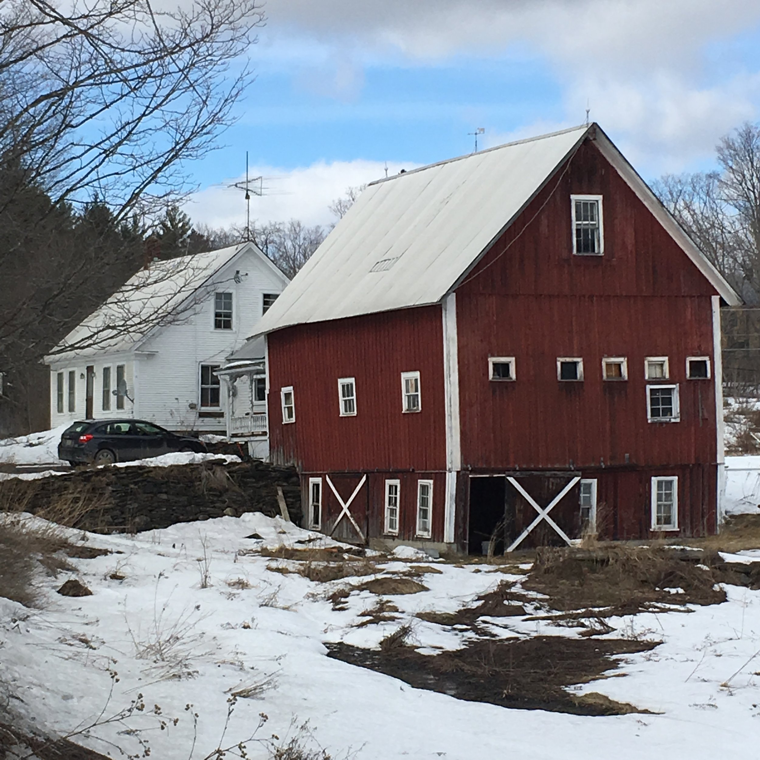 Barn on Kent Corners Road - Stephen M.  Frey