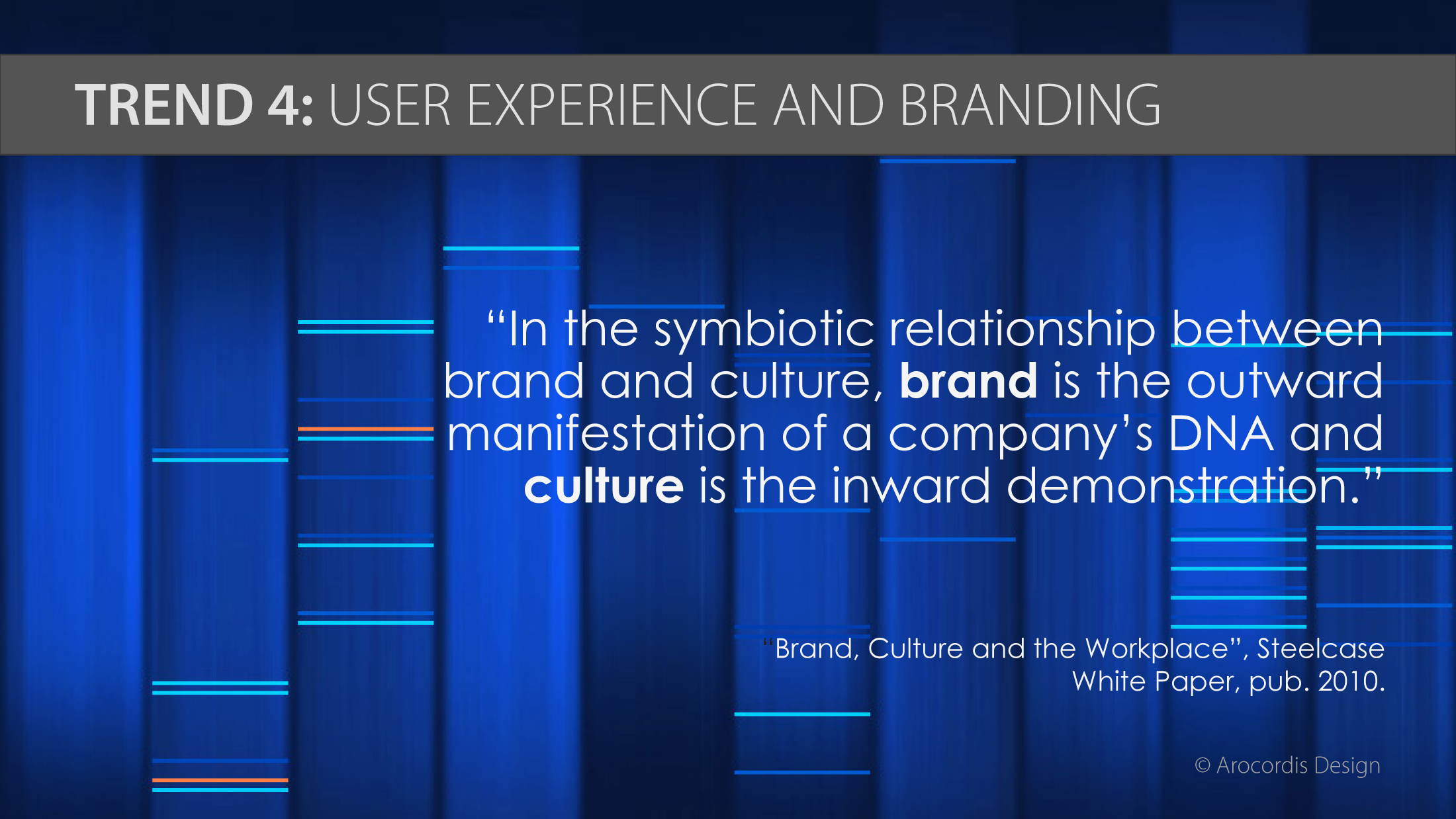 Brand and Culture image from  Emerging Trends in Cultivating Best Places to Work