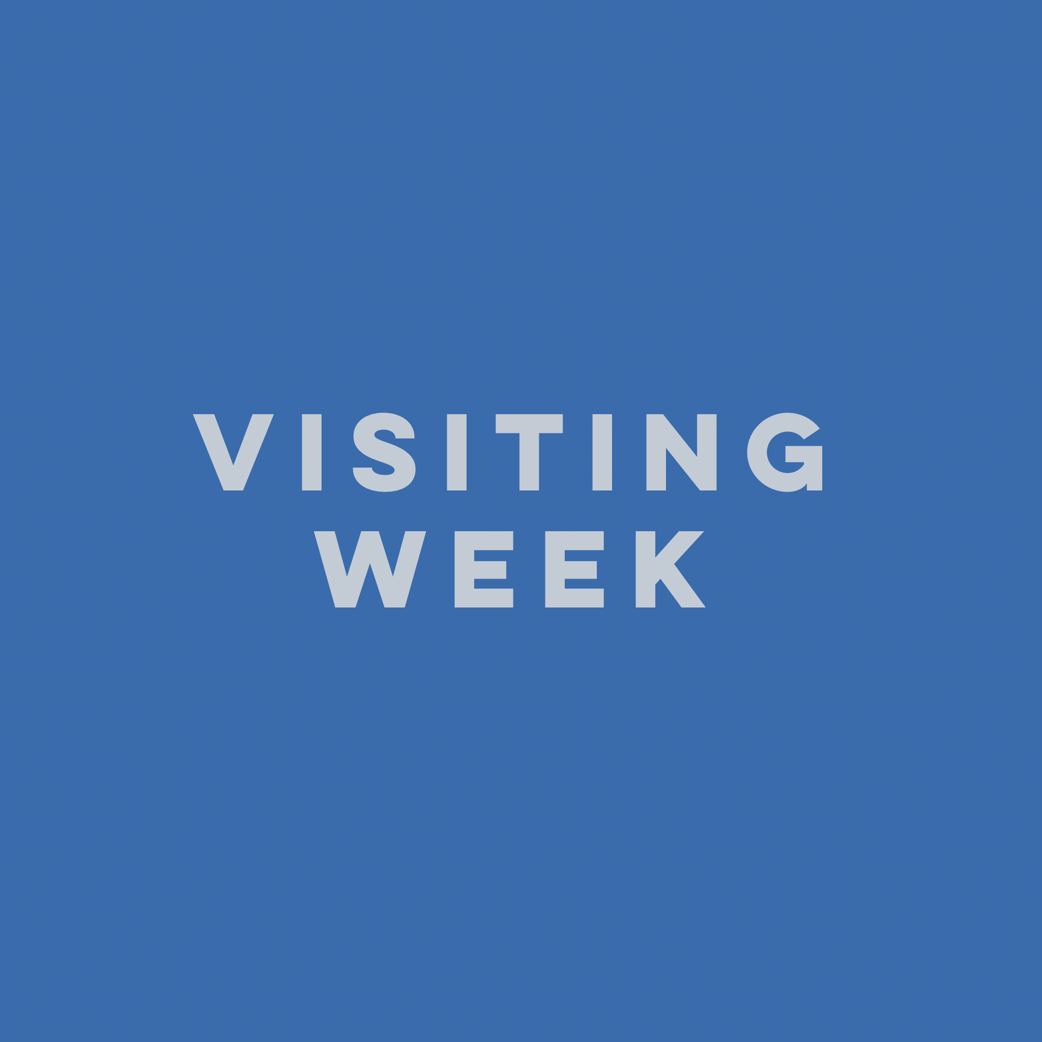 Visiting Week