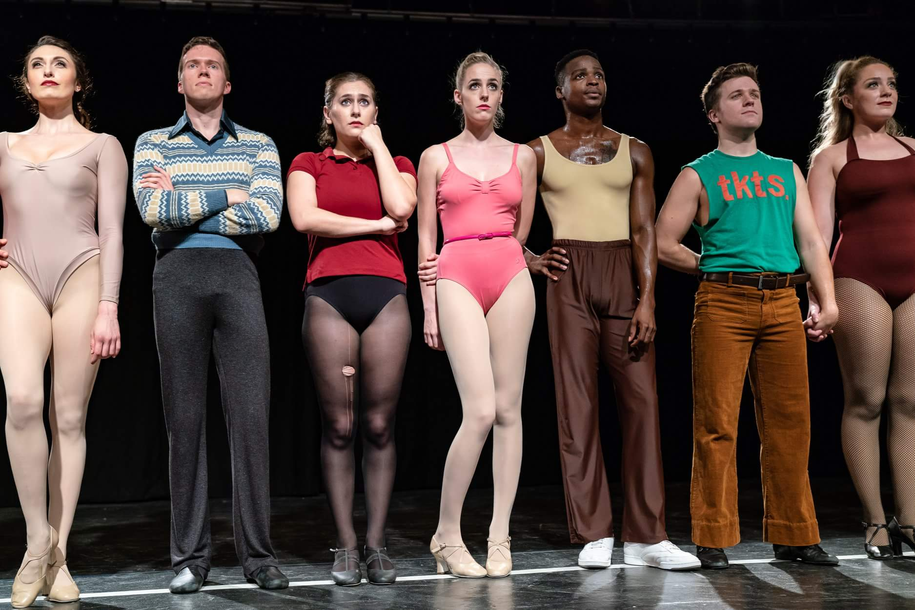 I was jumpin' and jivin' this fall as Richie in the classic musical, A CHORUS LINE Fall 2018 at the Gallery Players.