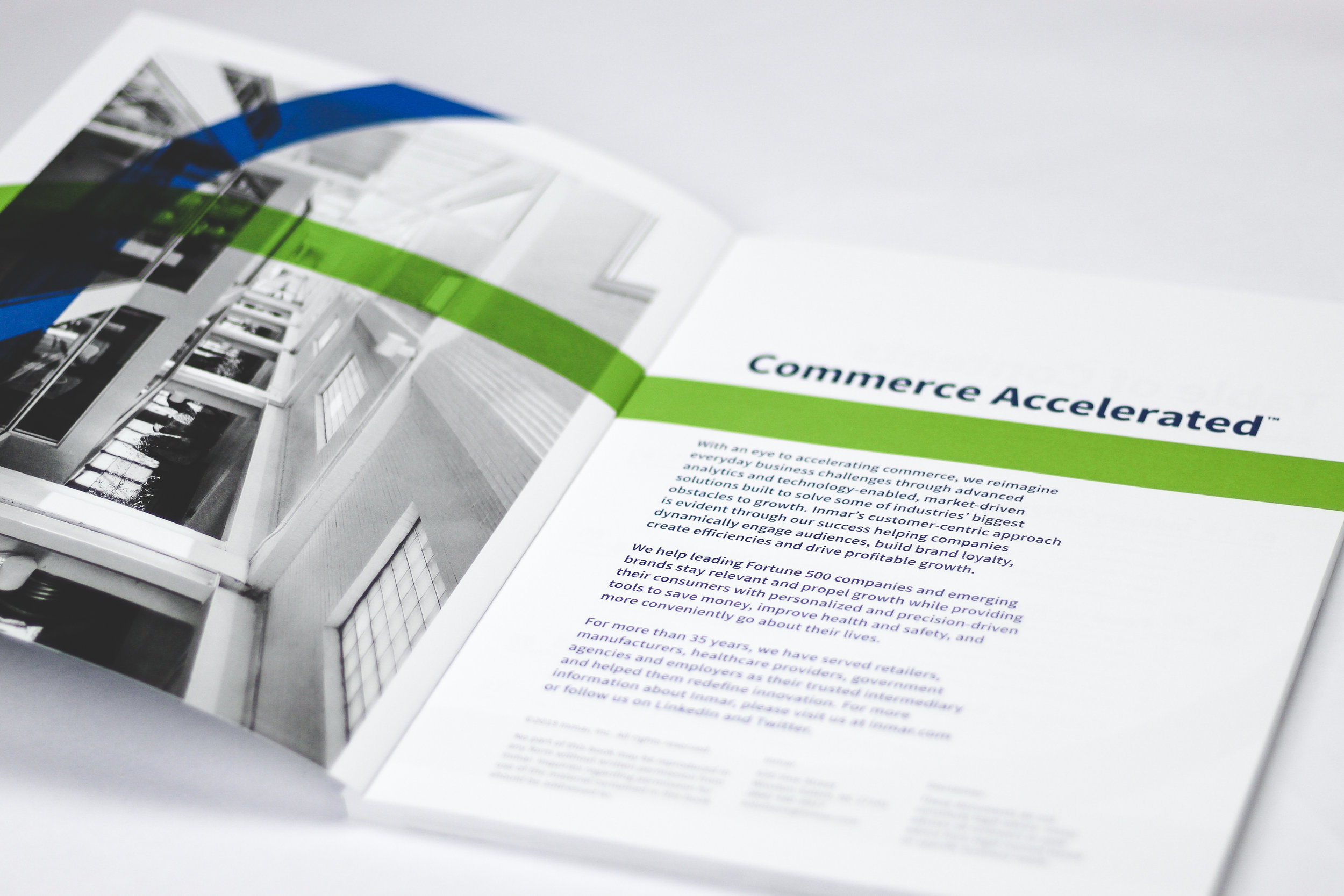 2019 Industry Analysis - I worked as a part of a creative team to help compile, design, style and print a yearly report put out by Inmar, Inc containing shopper data, industry trends and Industry insights by leaders in the marketplace. I specifically focused on whitepaper sections, overall strategy, and layout.