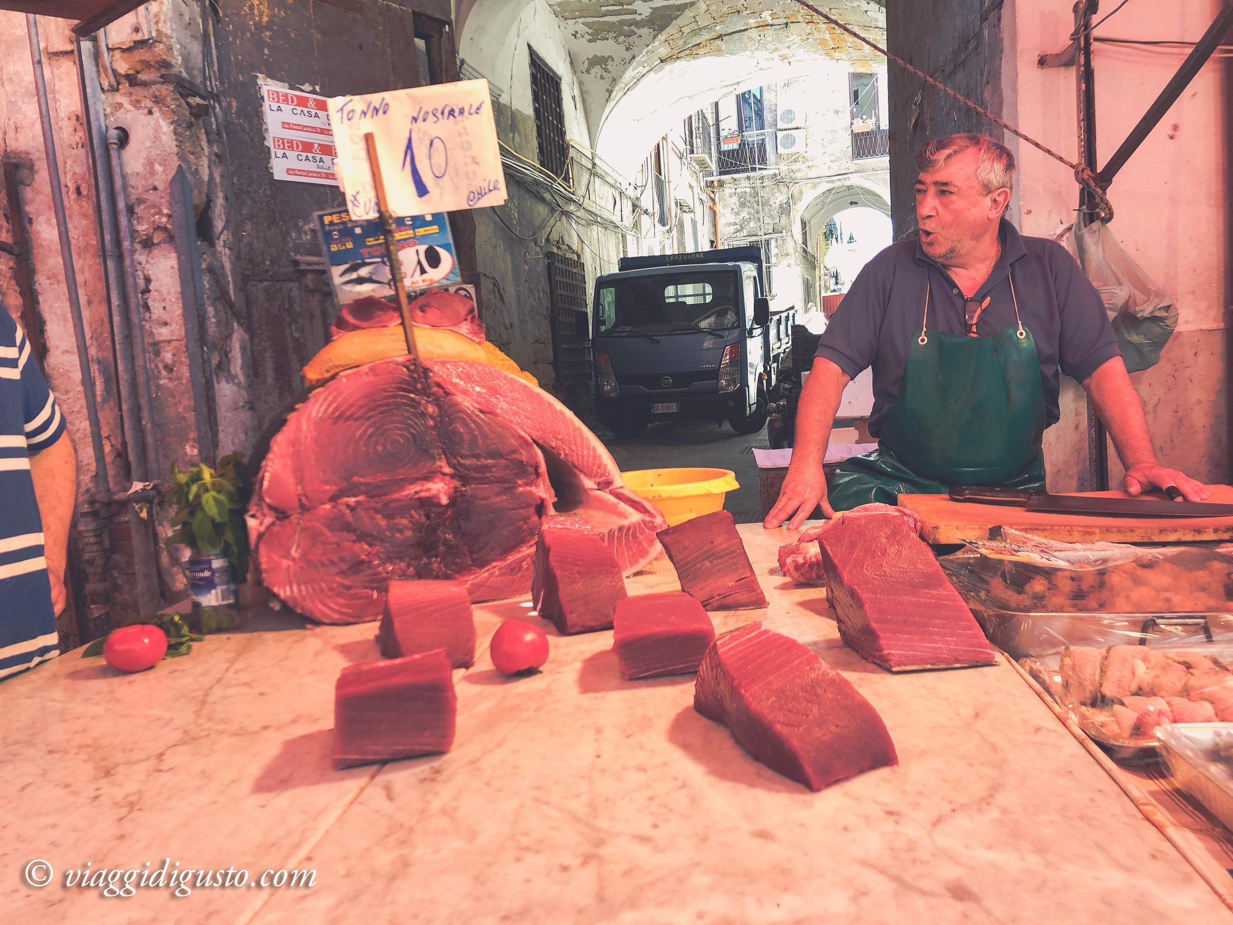 Palermo's famous Vucciria market