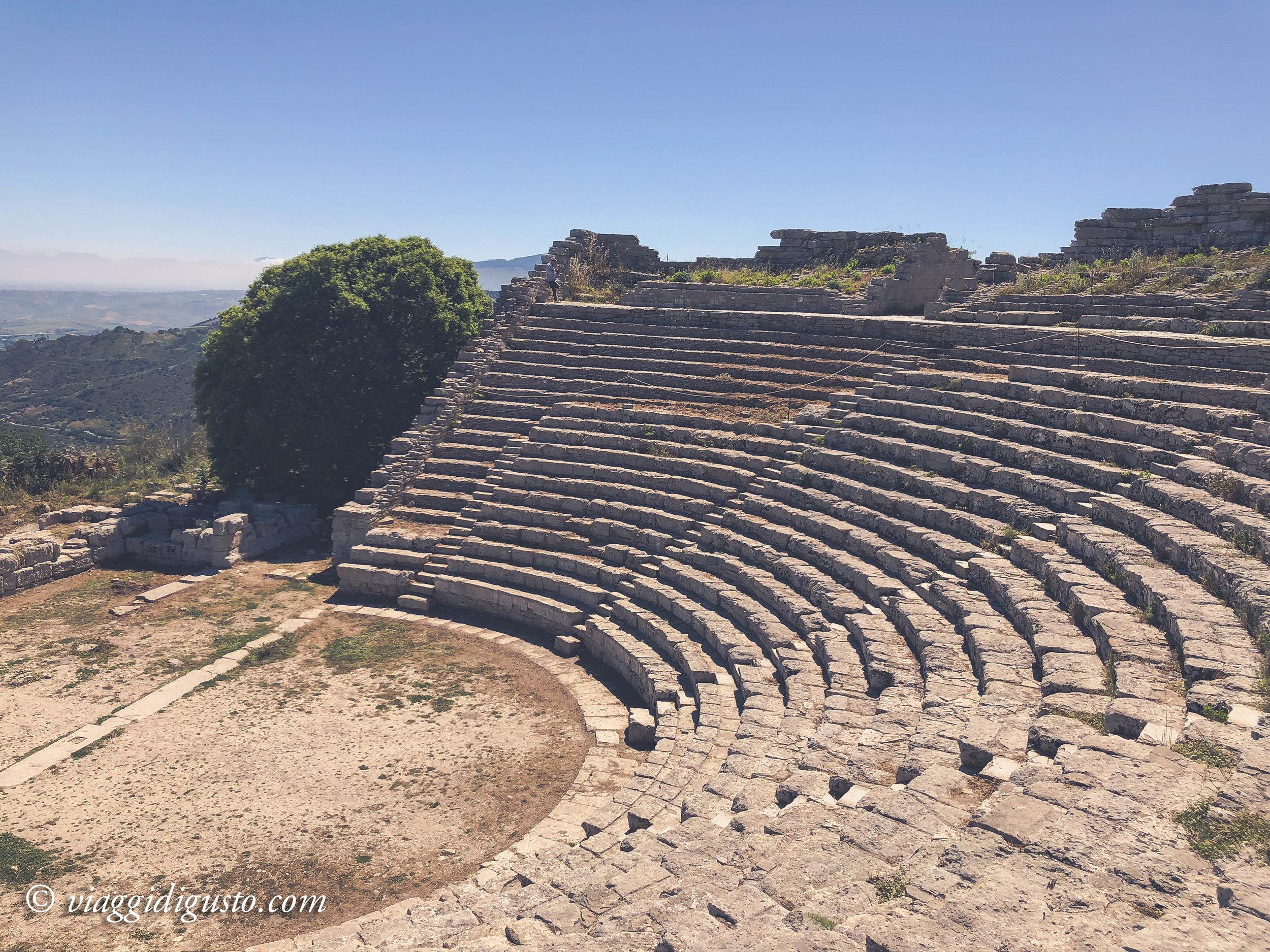 Segesta Greek archeological site