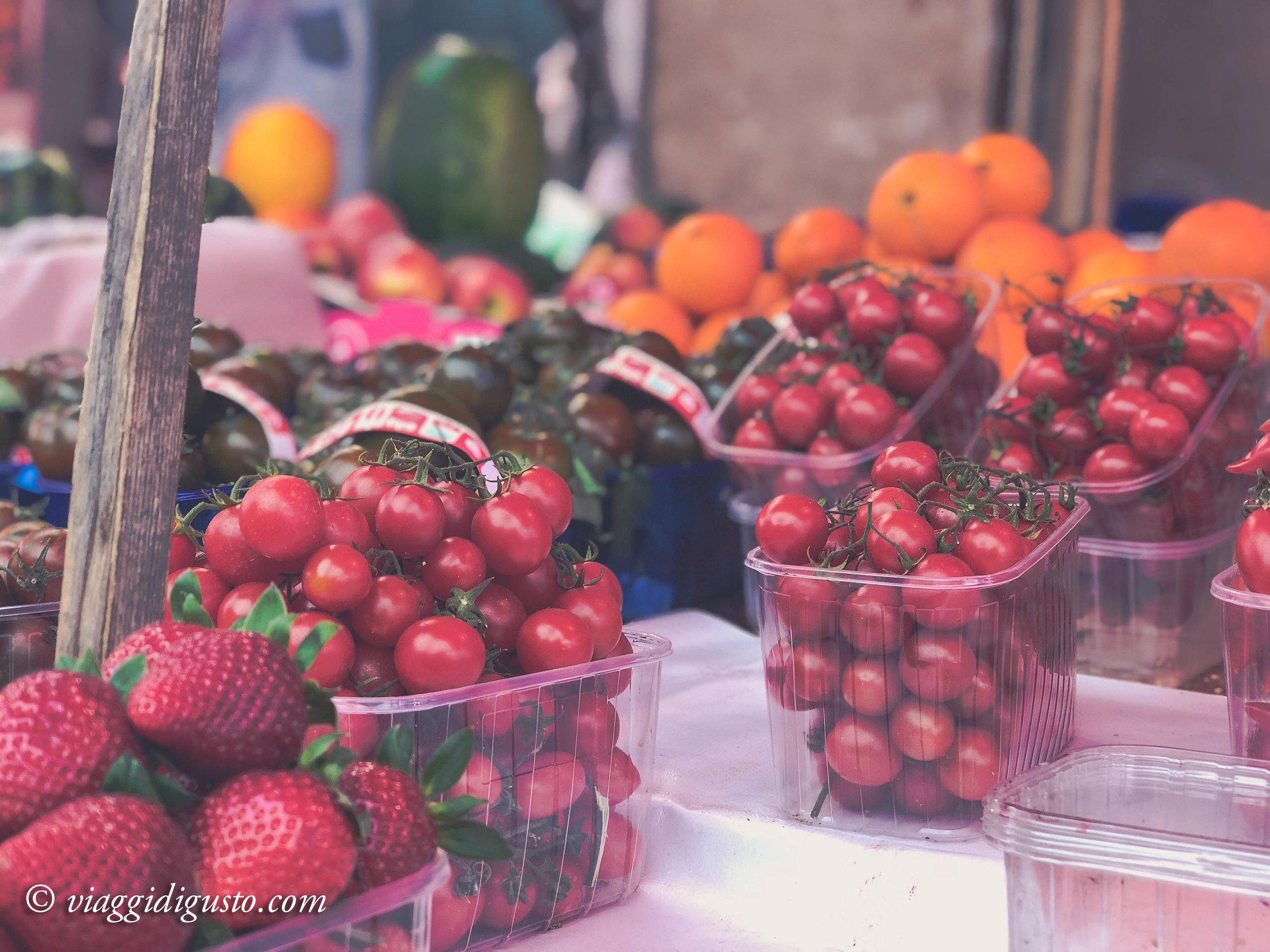 Palermo market.