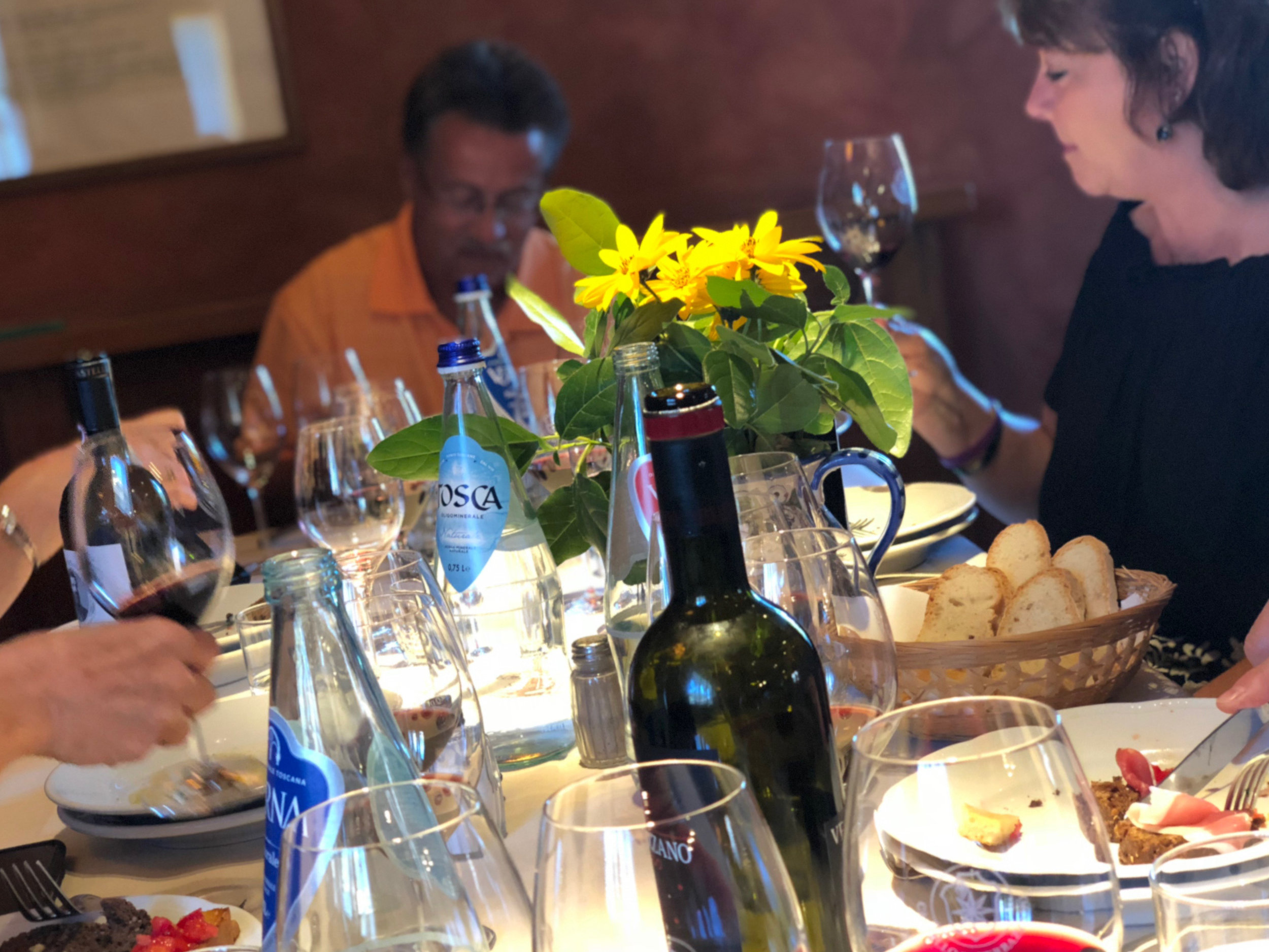 wine tasting & lunch, verrazzano winery (tuscany)