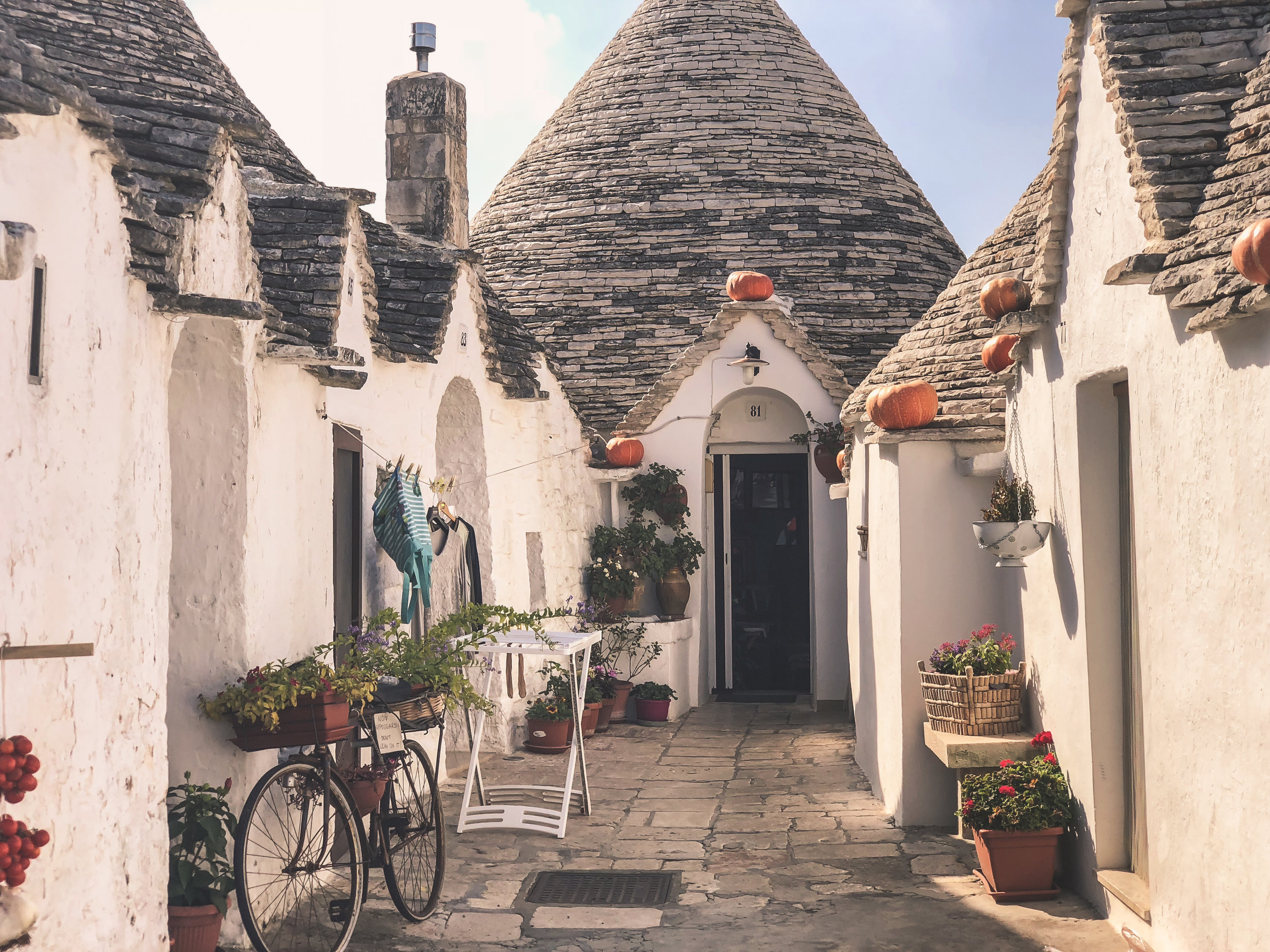 "alberobello, home to the ""trulli"", puglia"