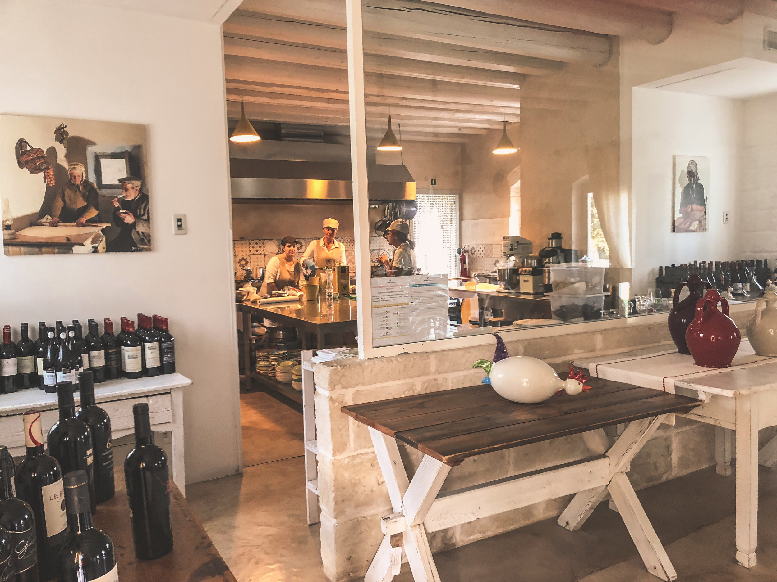 LA CUCINA-WHERE MAGIC HAPPENS, masseria cervarolo, puglia.