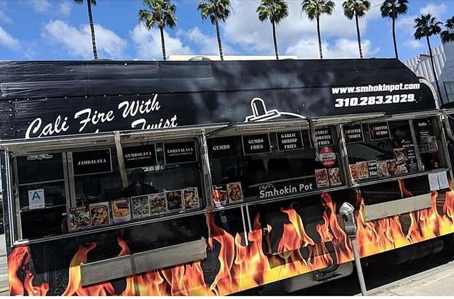 Come see us today at @commonspacela till 10P you can also place a  order on GrubHub