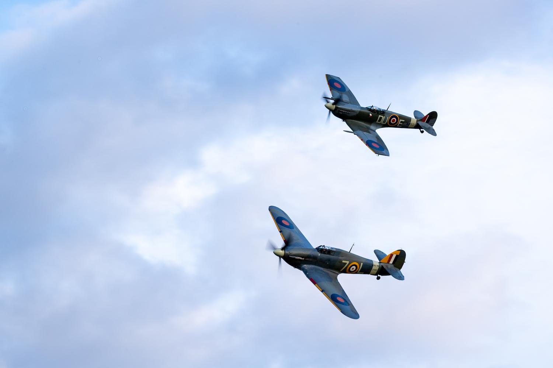 1941 Spitfire & Hurricane