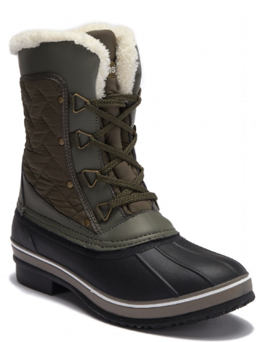 Northside Modesto Waterproof Faux Fur Lined Cold Weather Boot ($45.97) Nordstrom Rack
