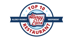 Named one of the Top 10 Allergy-Friendly Independent Restaurants in America