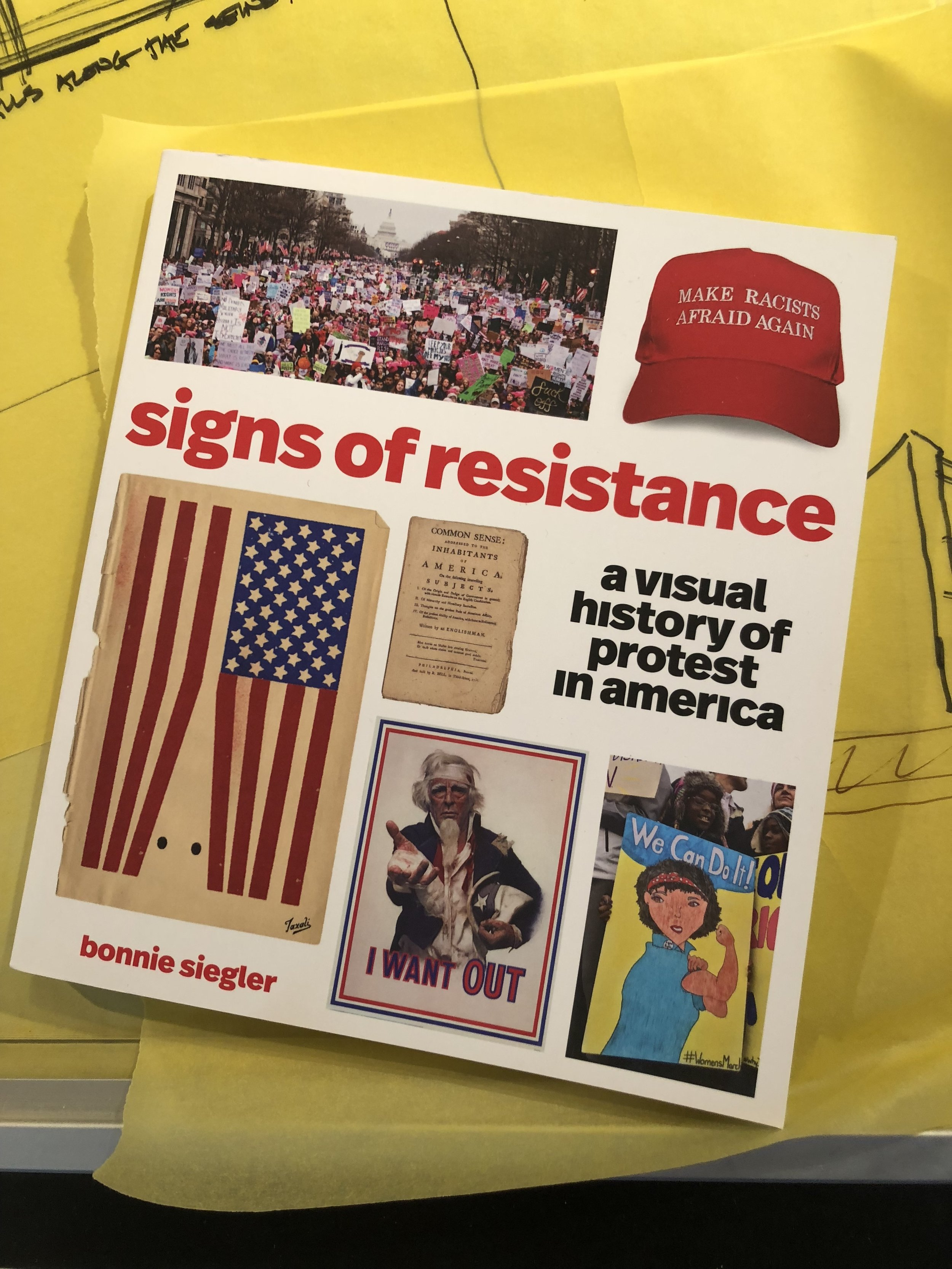 Signs of Resistance , and new book by Bonnie Siegler