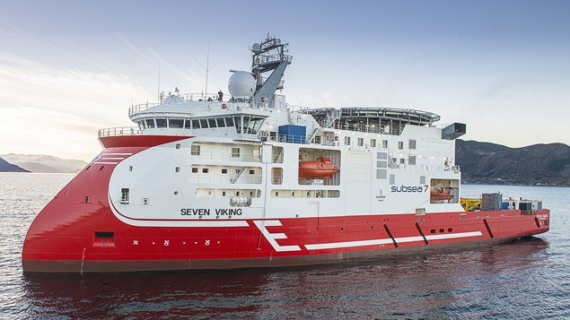 Seven Viking - Built by Ultstein Verft in 2013.Ship of the year 2013.Matre has supplied with DIFFS.
