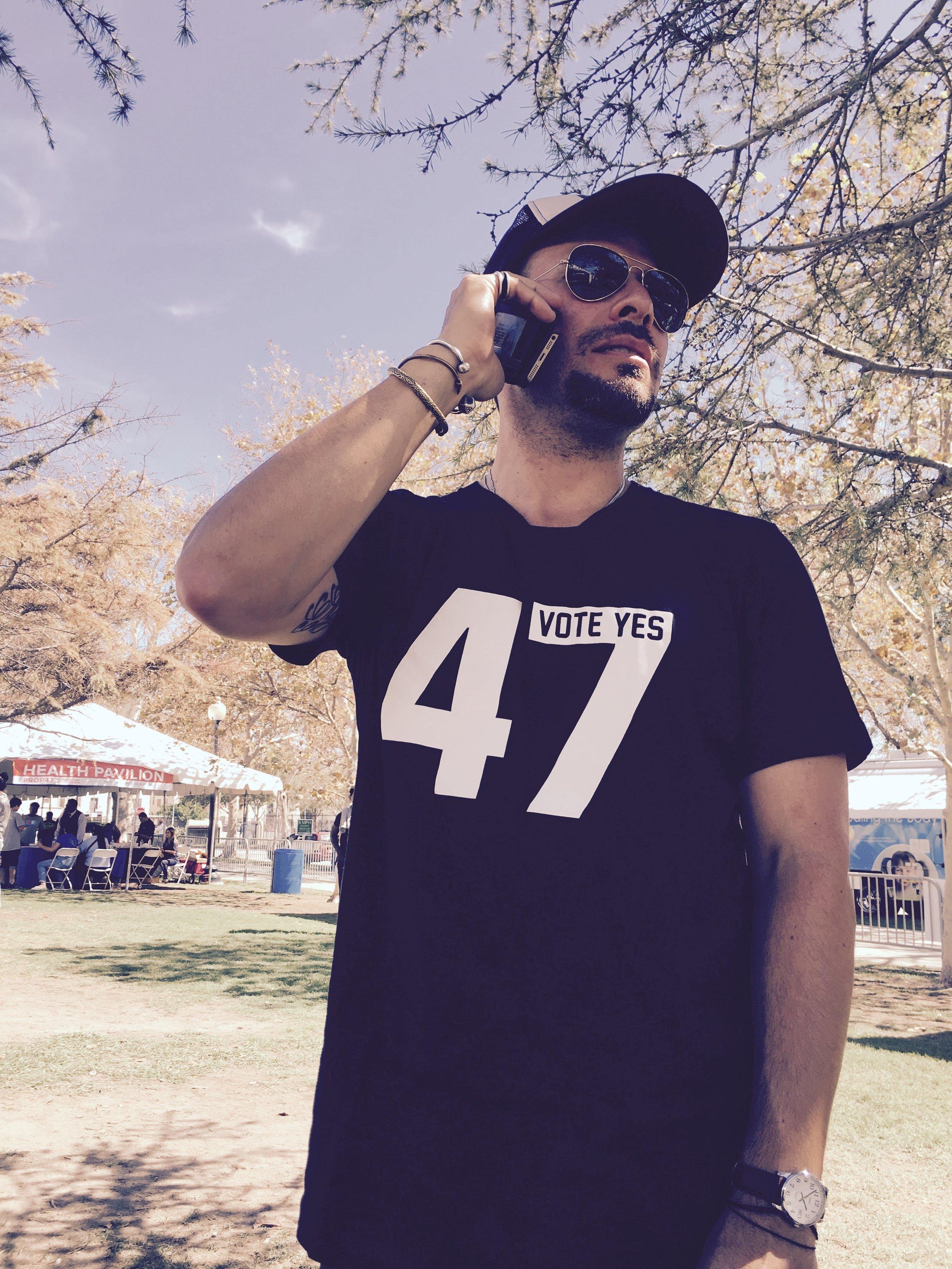 Mike de la Rocha, artist, activist, founder of  Revolve Impact .