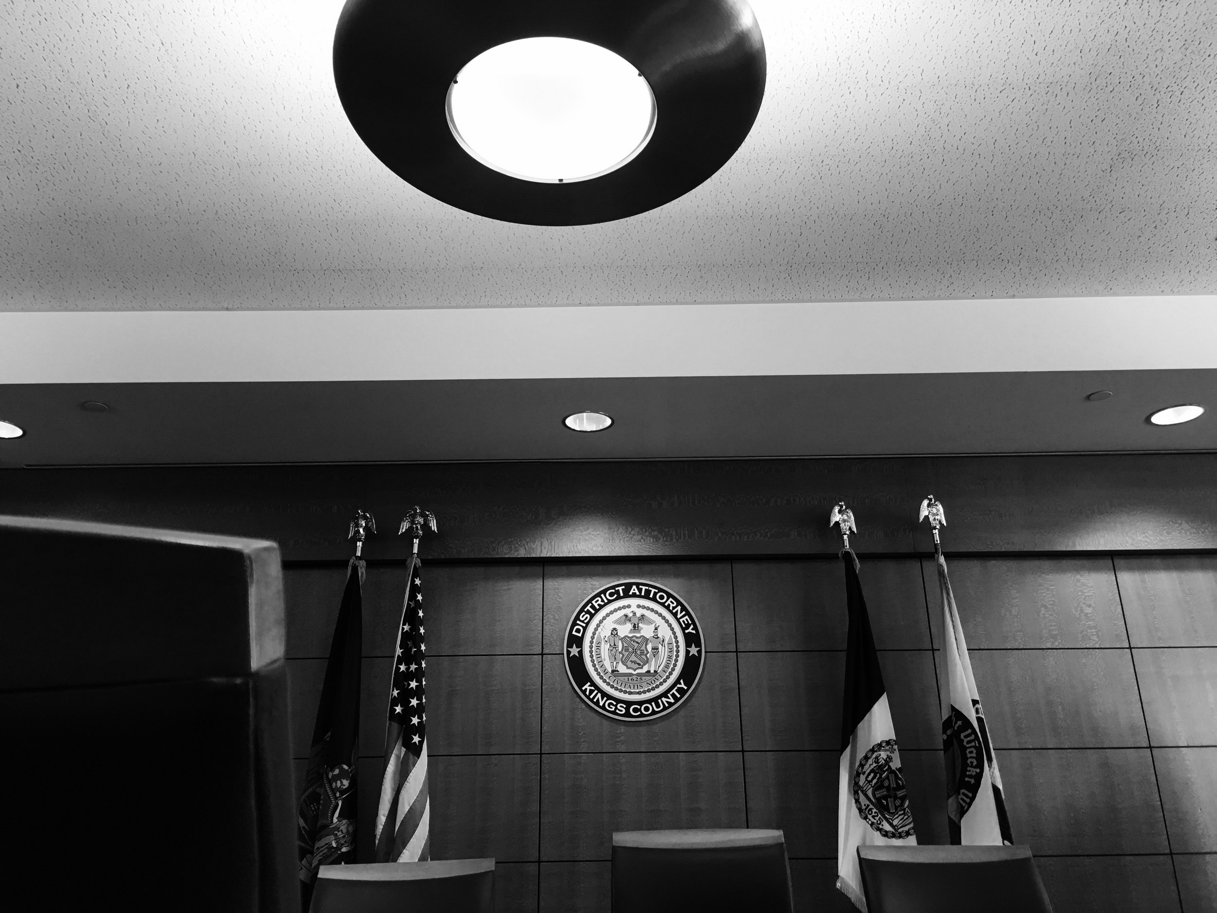 The late, District Attorney Ken Thompson's Office. Brooklyn, New York. Such a wonderful, inspiring man. He is missed.