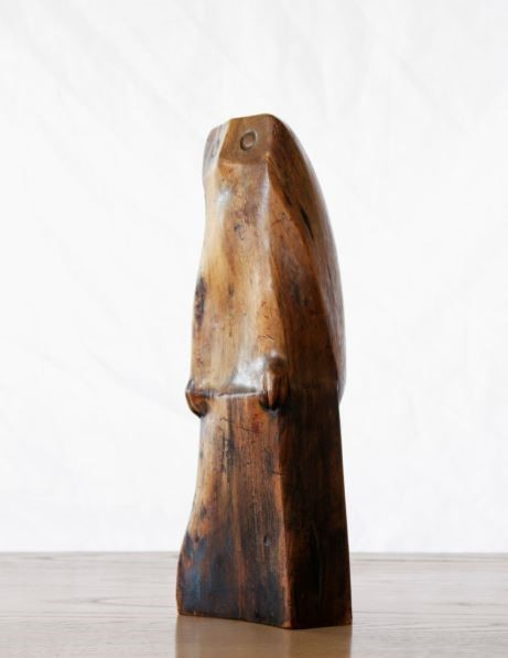 Philip McCracken,  Untitled , stained juniper wood, BIMA Permanent Art Collection, Gift of Ann Gould Hauberg
