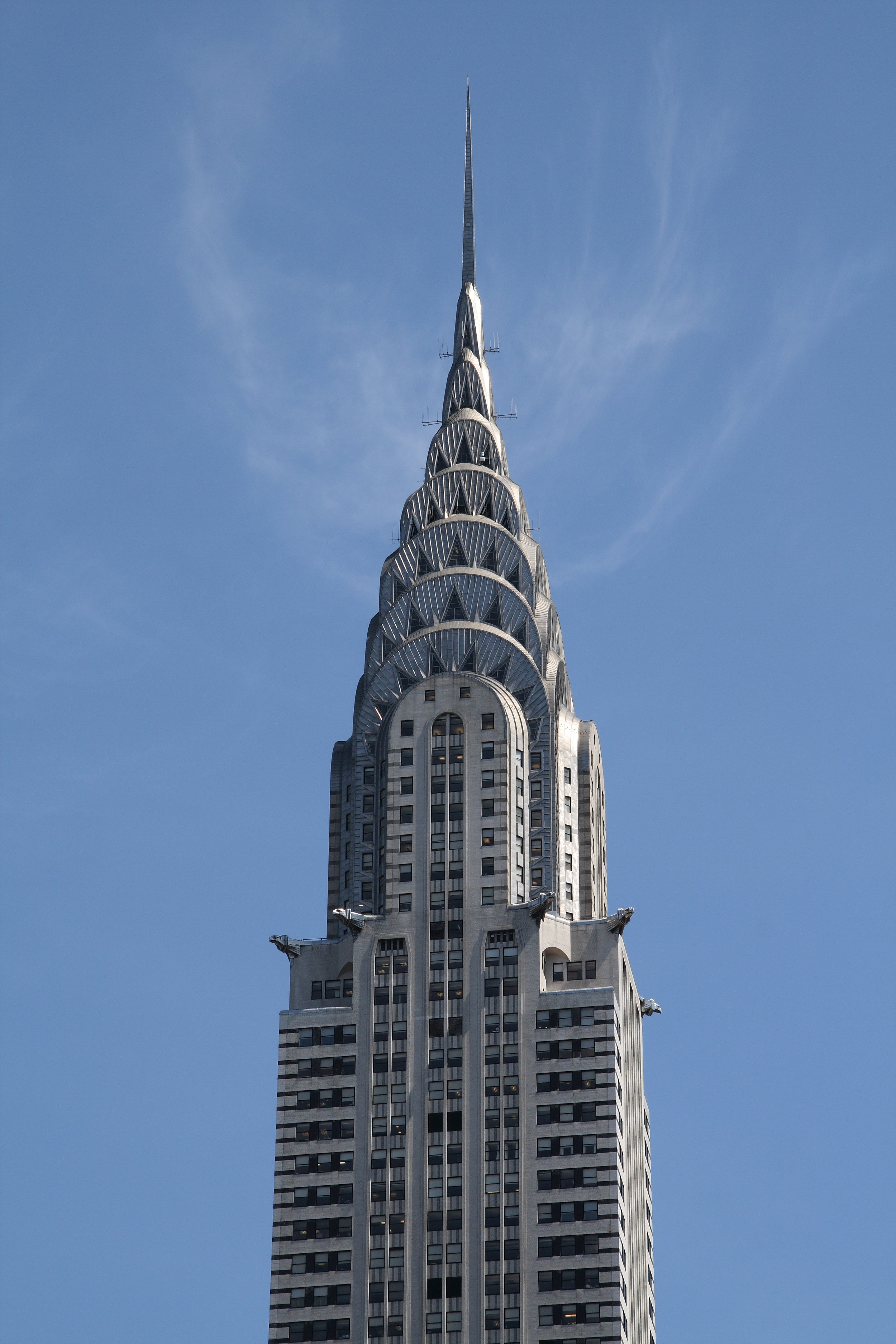 The Chrysler Building in NYC