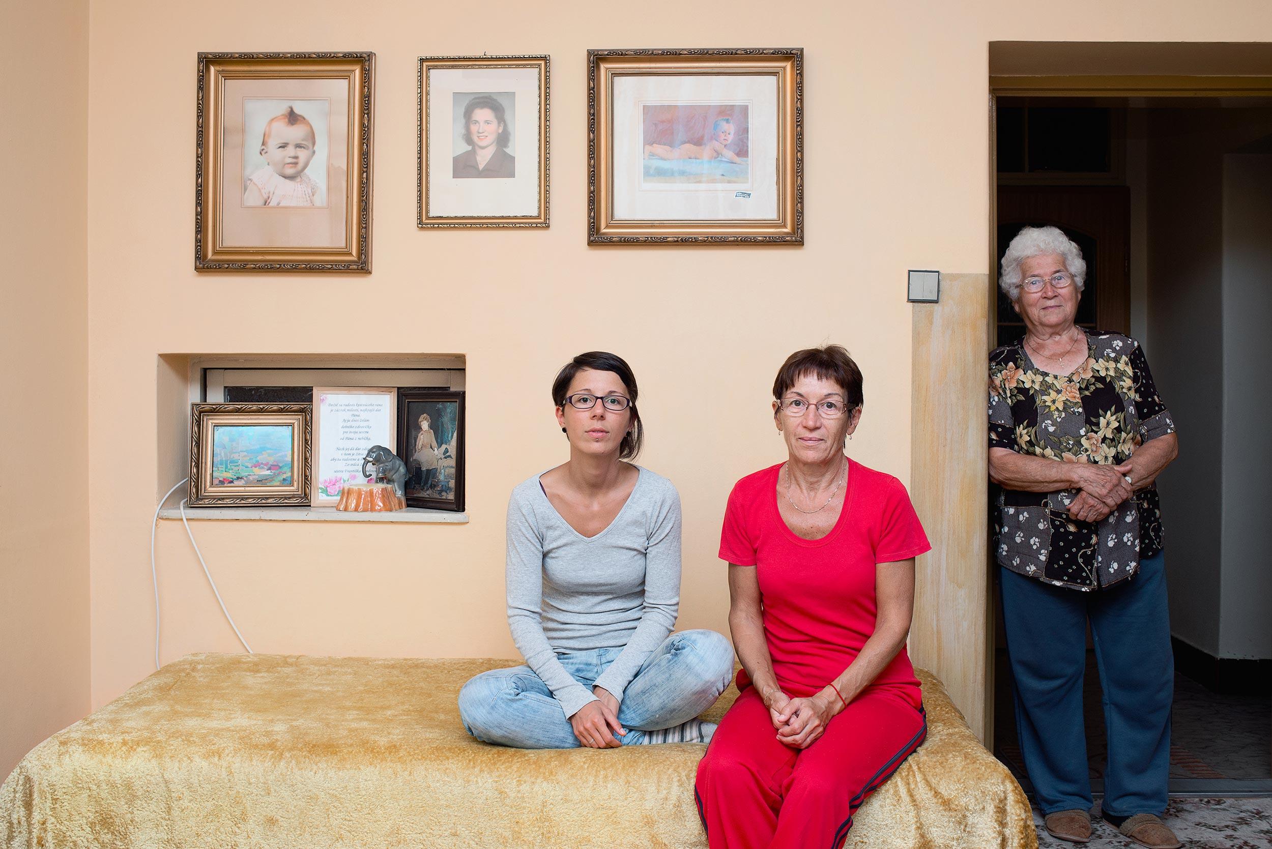Zuzana, Daniela and Jozefina