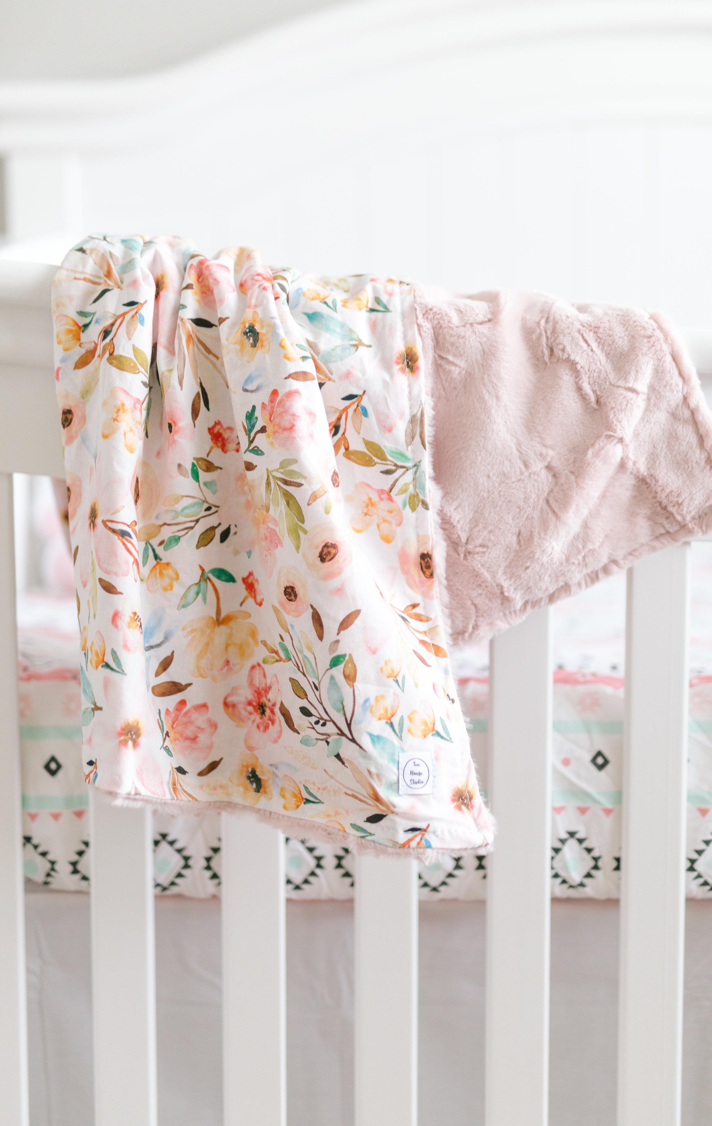 Boho Wanderlust girl's  baby nursery