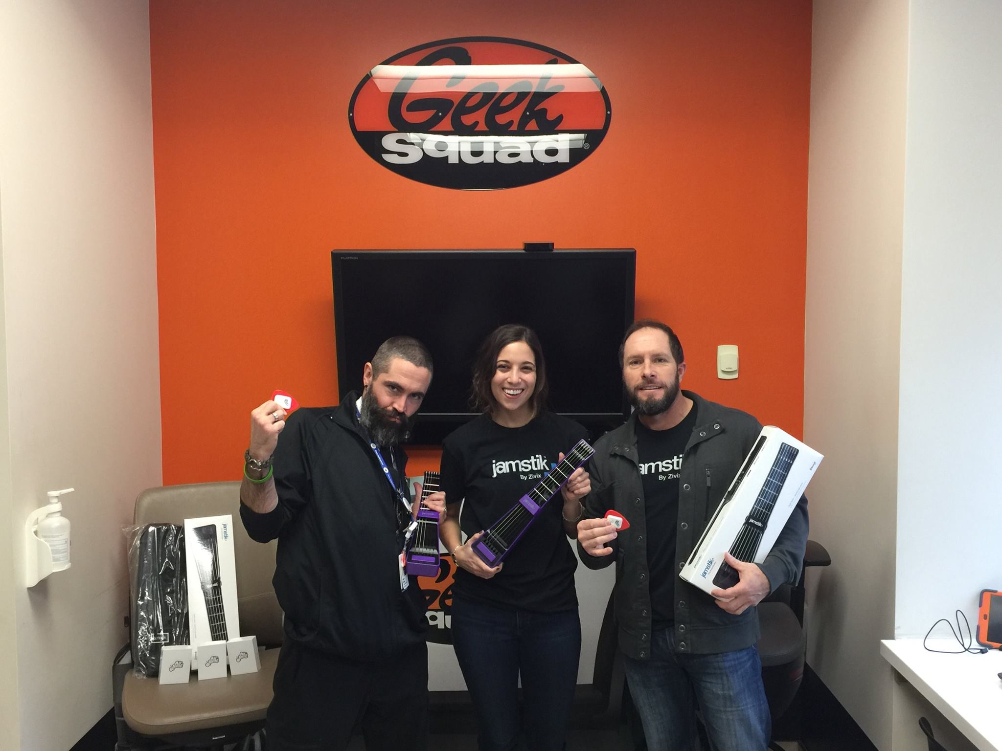 (From left to right: Elliot Nelson - Geek Squad, Meredith Cannon - Zivix , Chad Koehler - Zivix)