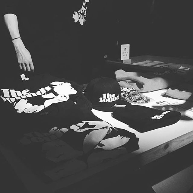 Attention Gothenburg! Please support our dear friends from @thesoundsband at @pustervik tonight! Merchworld printed clothing available on site. #thesounds #merchworld