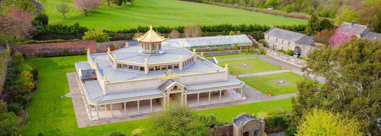Manjushri Kadampa Meditation Centre, Ulverston, England. Opened in 1997