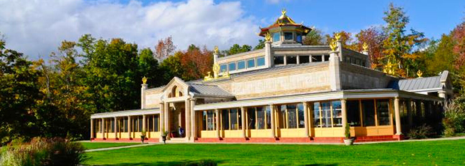 Kadampa Temple for World Peace, Glen Spey, United States. Opened in 2006