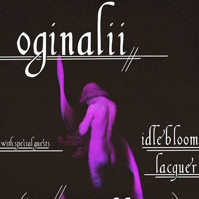 TONIGHT! We play with @oginalii for their album release 🌹 @lacquerband opens the show at the @thebasementnash