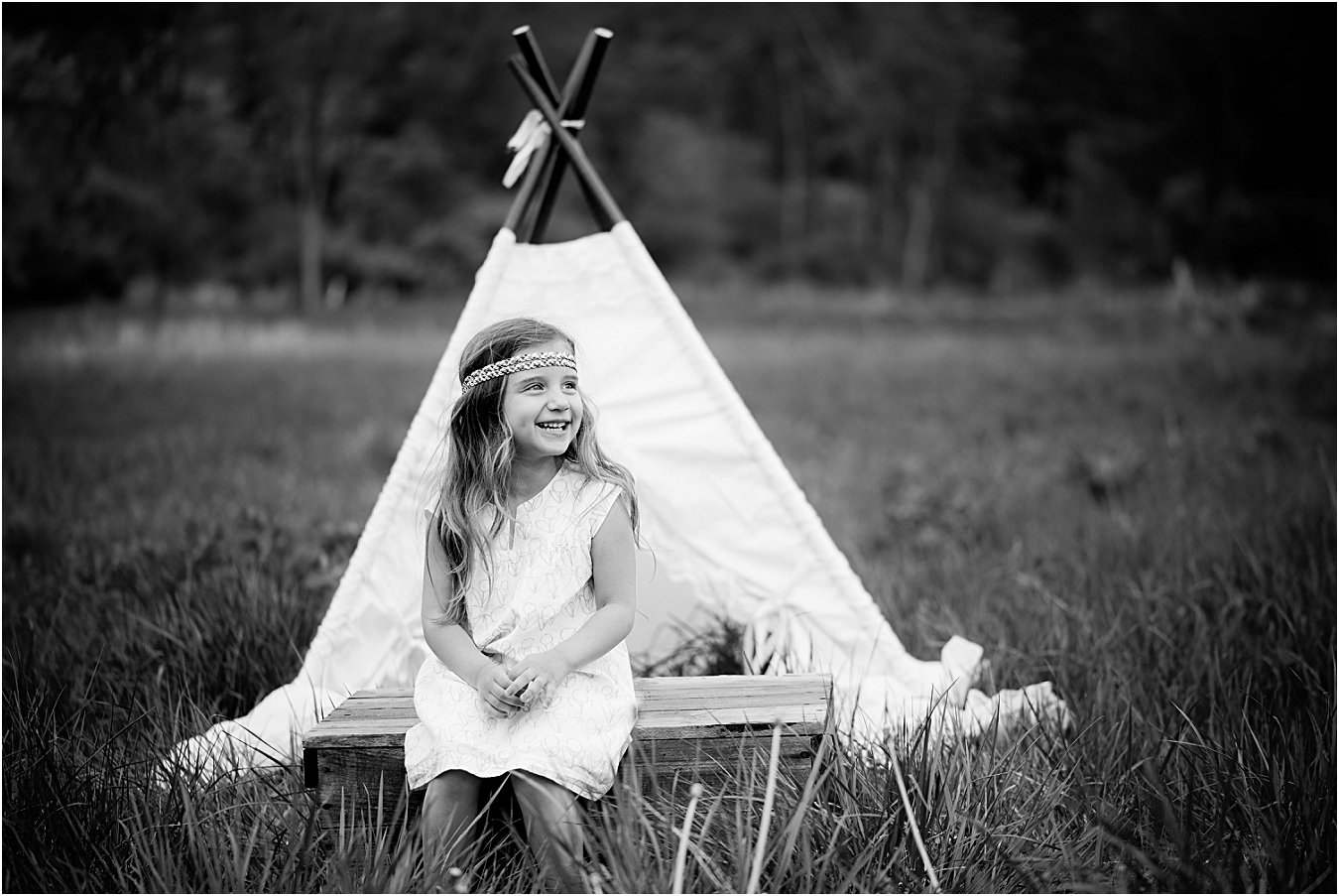 Boho Baby by Williamsport Children's Photographer Tara Betz