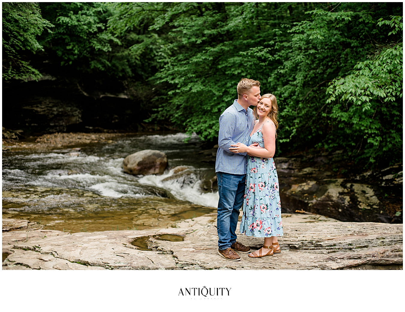 beautiful Williamsport engagement photos