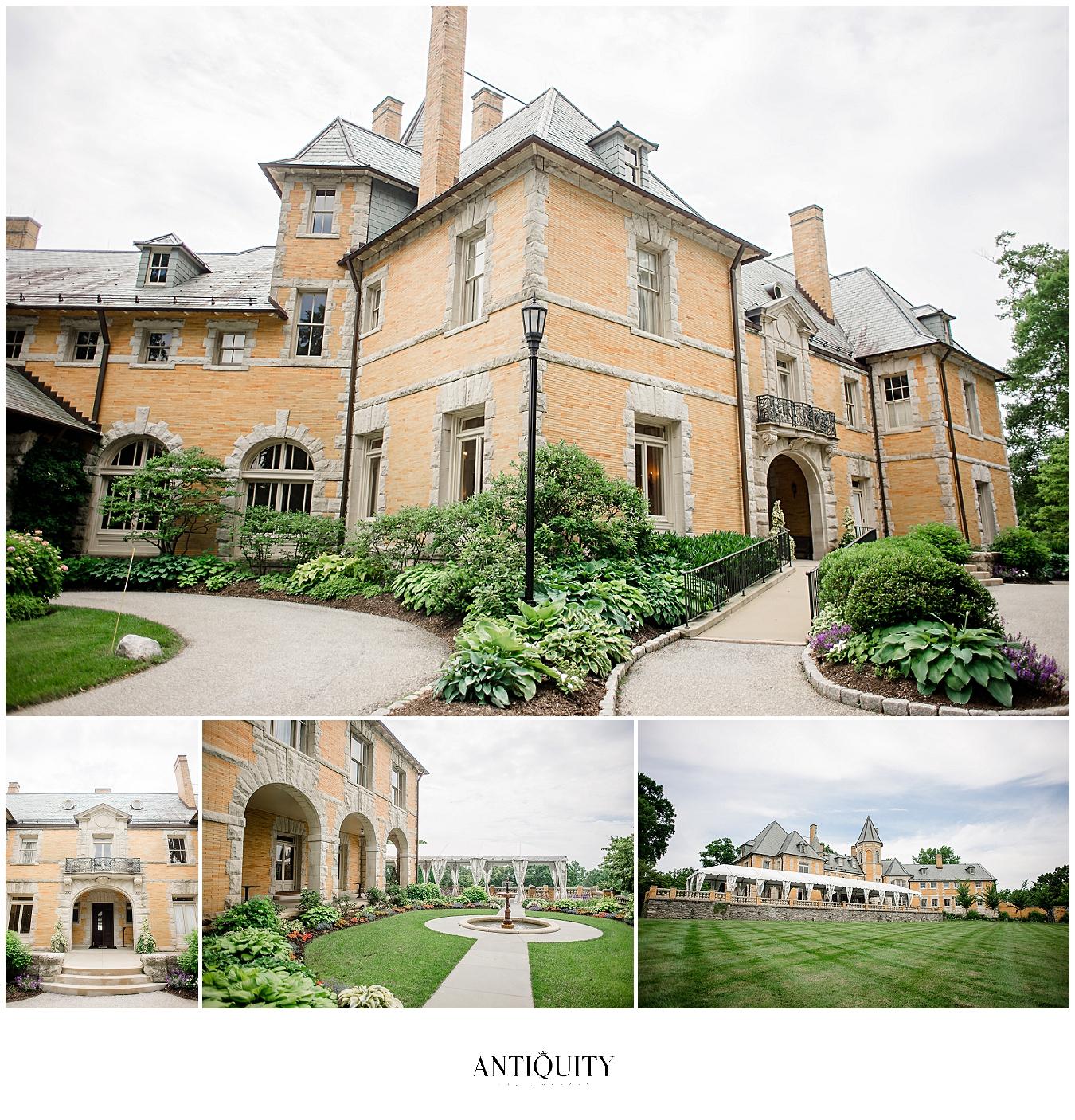 Cairnwood estate wedding grounds