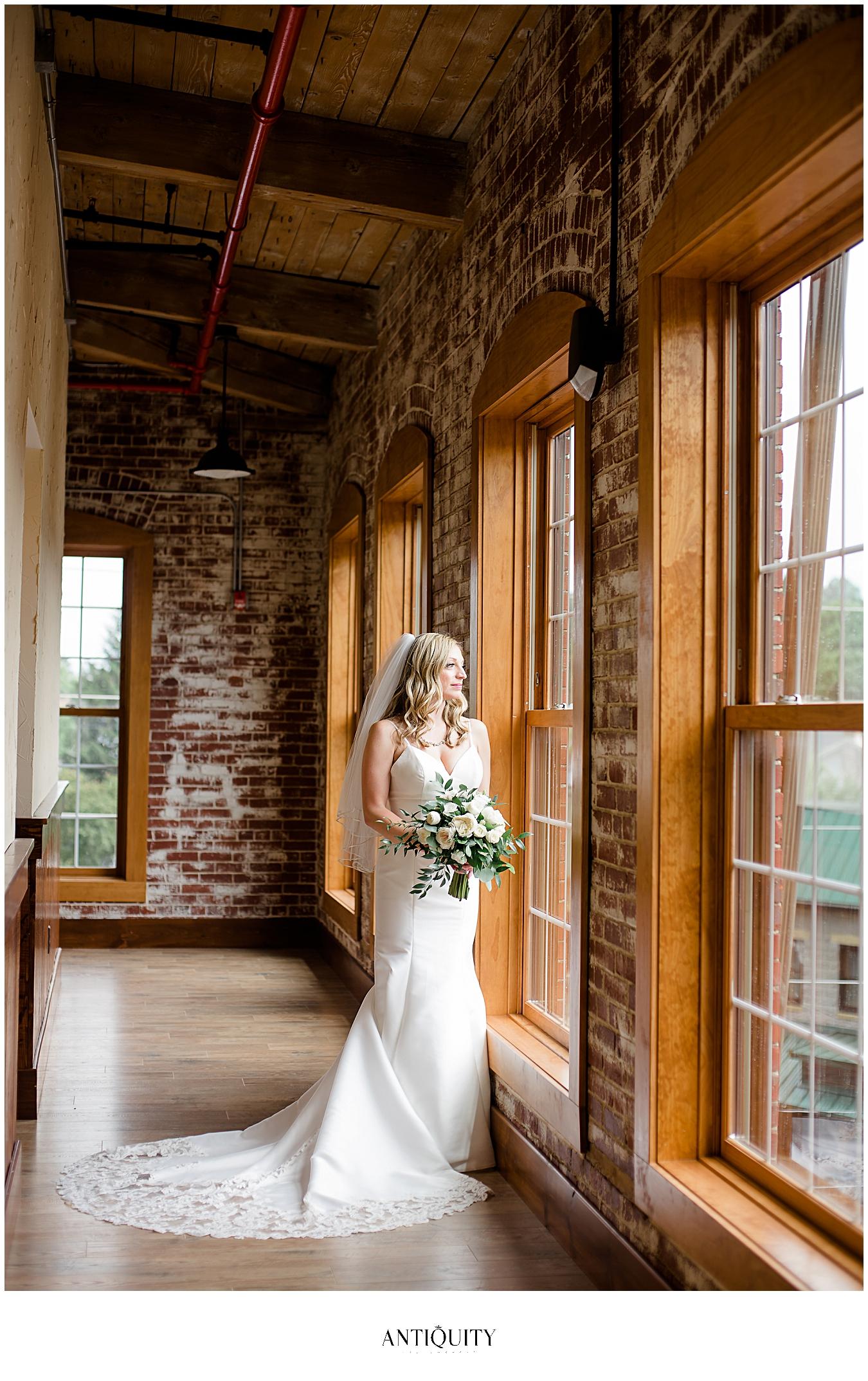 bride at rusty rail brewing company
