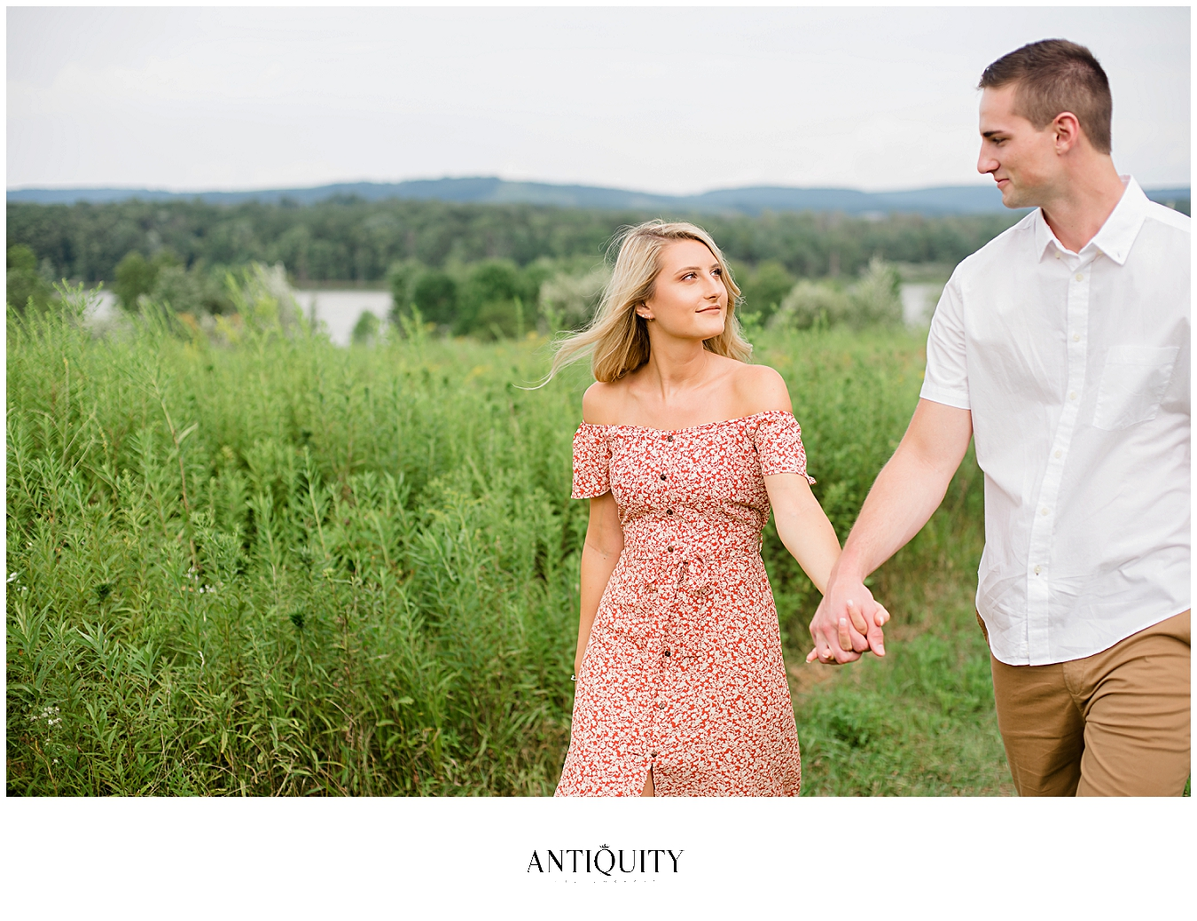 williamsport engagement photos at nearby Montour Preserve